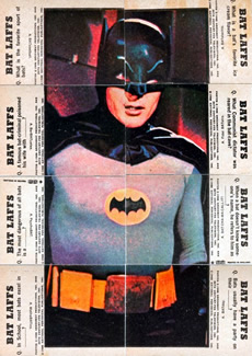1966 Bat Laffs Puzzle Batman
