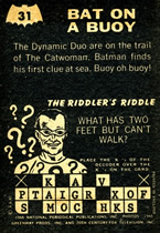 1966 Riddler back A&BC #31 back