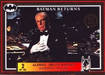 Batman Return Gold Card Alfred