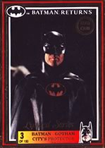 Batman Return Gold Card Batman