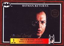 Batman Return Gold Card Bruce Wayne