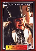 Batman Return Gold Card Oswald Cobblepot